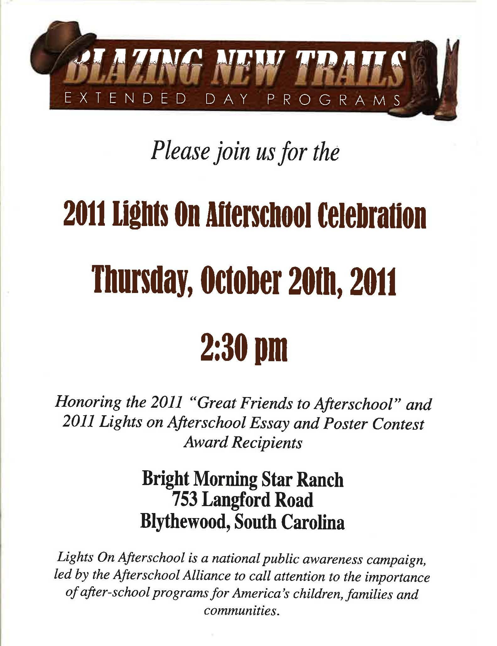Invitation Flyer Examples