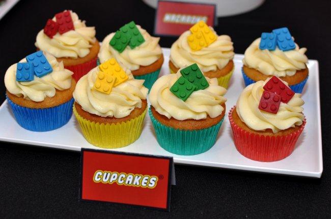 Lego Birthday Cupcakes For Boys