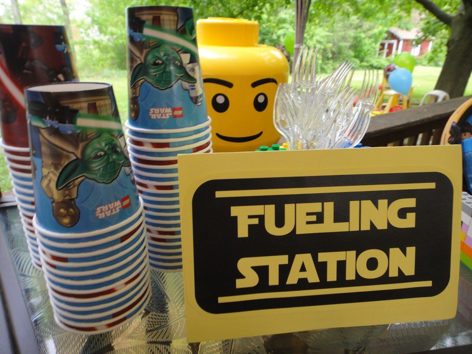 Lego Star Wars Birthday Food Ideas