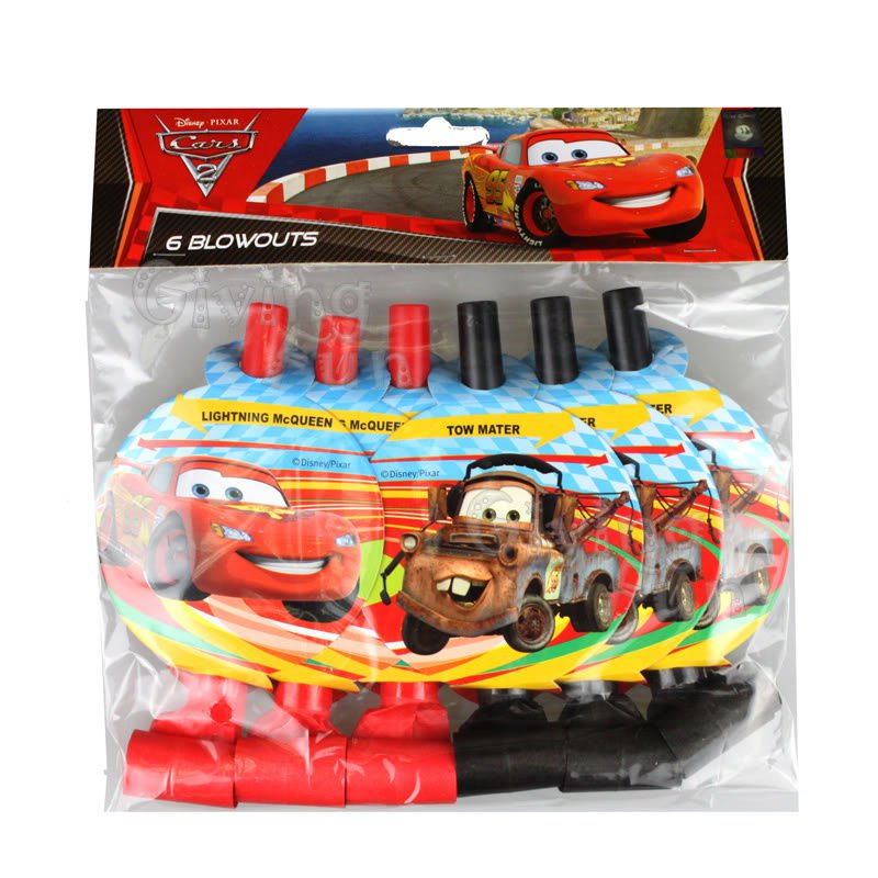 Lightning Mcqueen Birthday Party Supplies