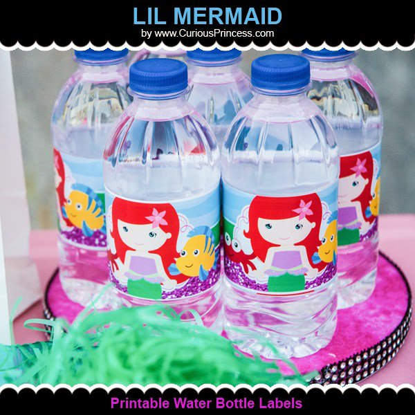 Lil Mermaid Birthday Ideas