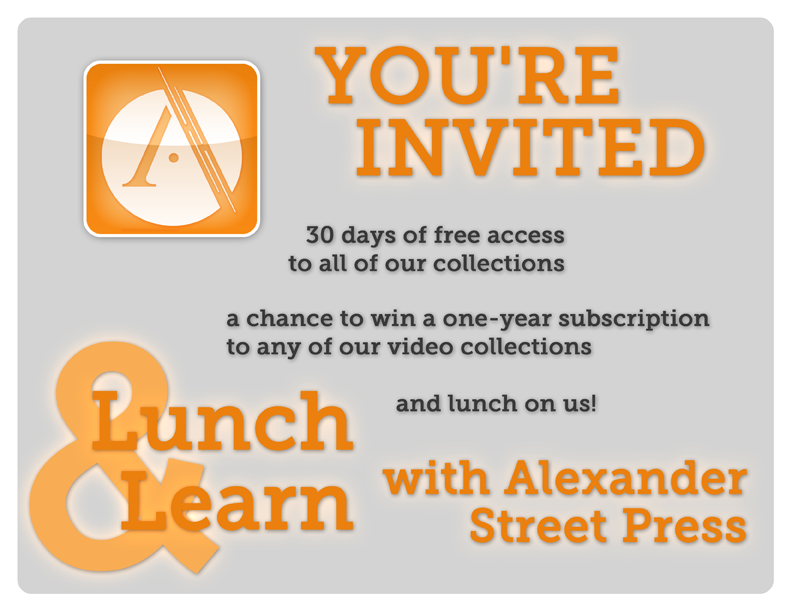 Lunch And Learn Announcement