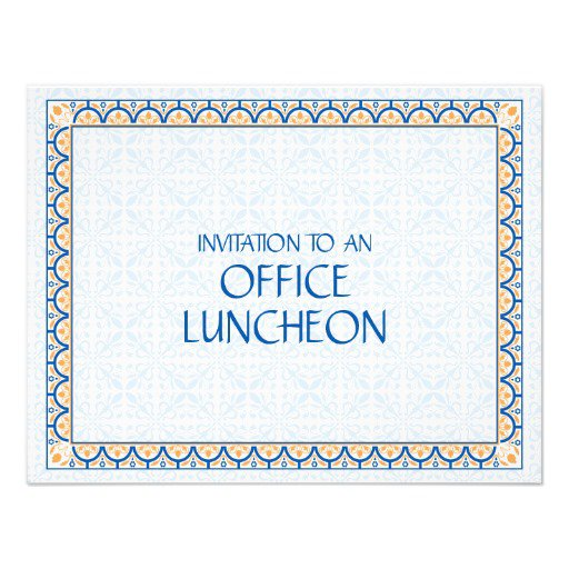 Lunch Invitation Wording For Employees