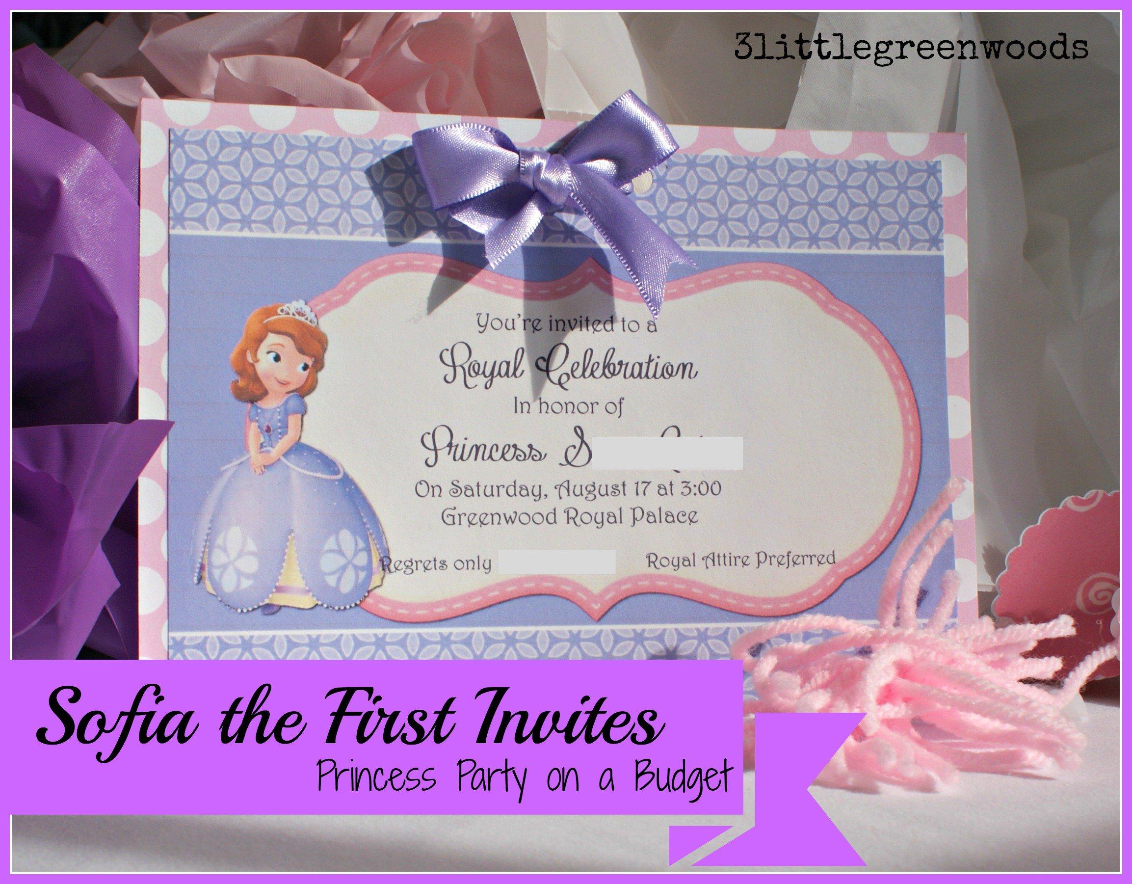 Make Princess Invitations Free Printable