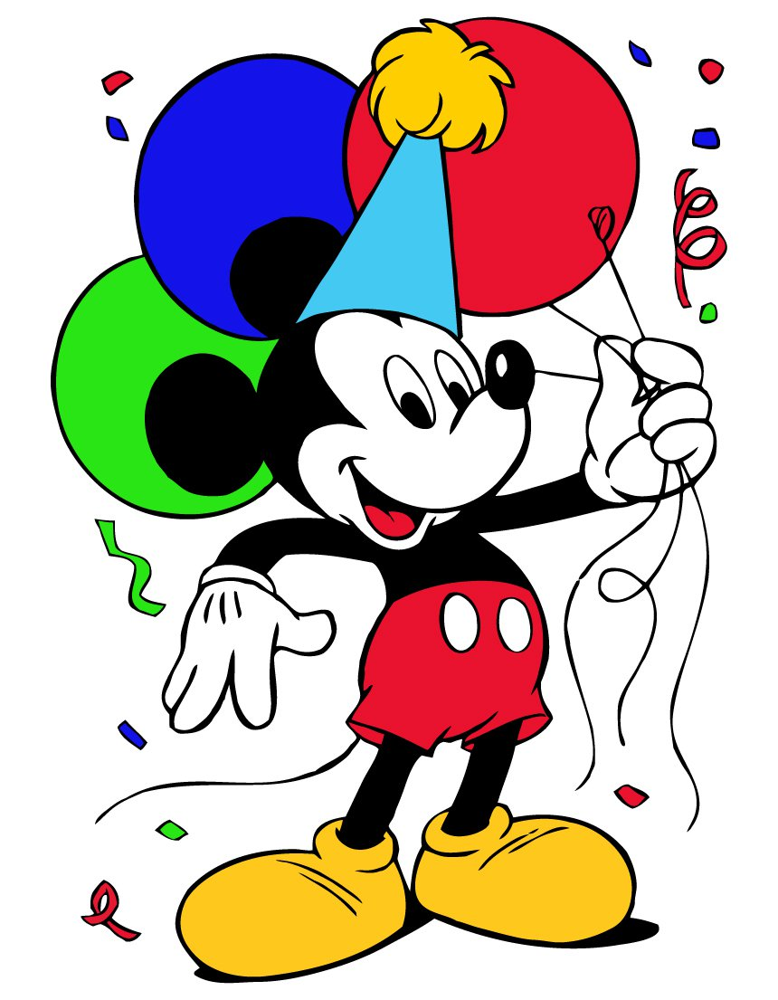 Mickey Mouse Clip Art Free