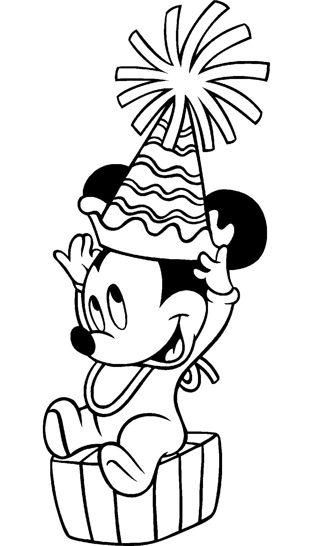 Mickey Mouse Coloring Pages Free Printable