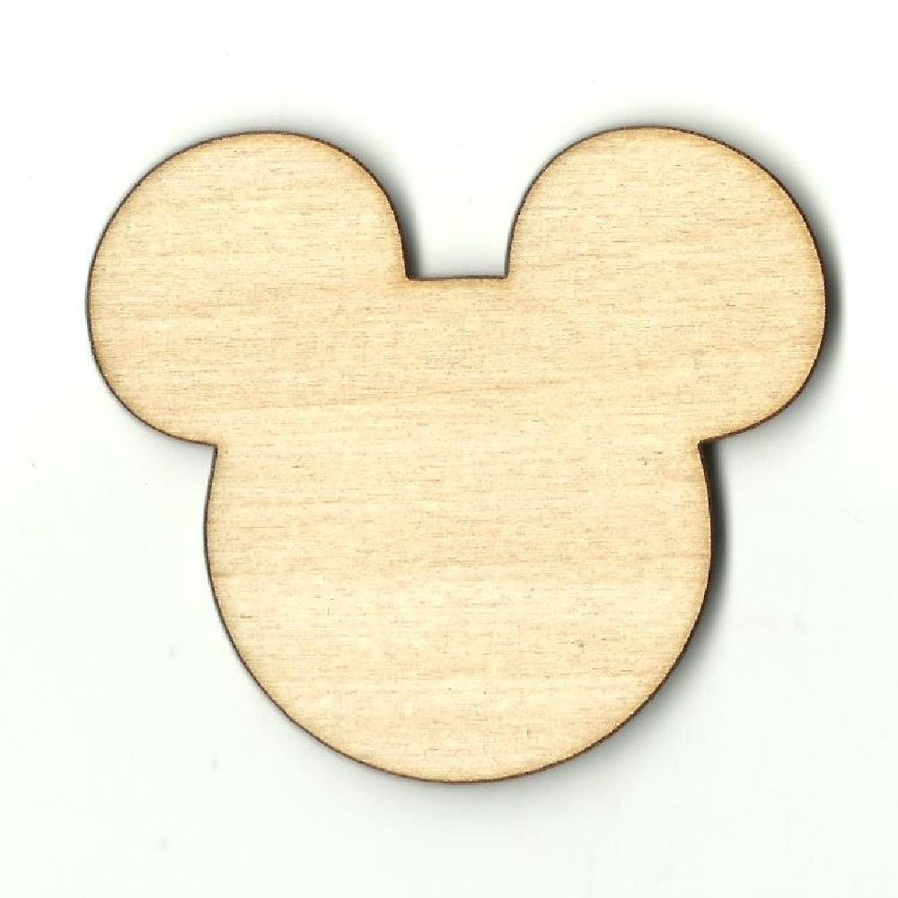 Mickey Mouse Cut Out Wood