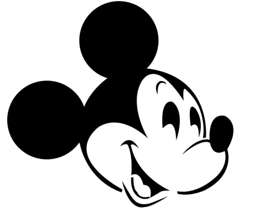 Mickey Mouse Printable Stencils