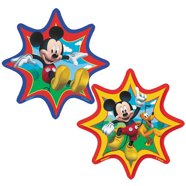 Mickey Mouse Wood Cutouts