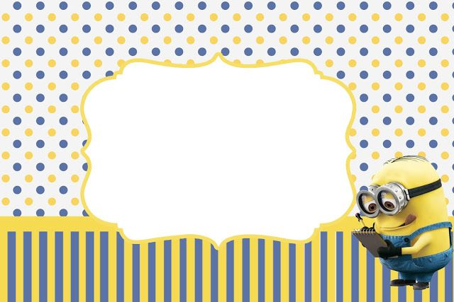 Minions Party Invitations Free Printables