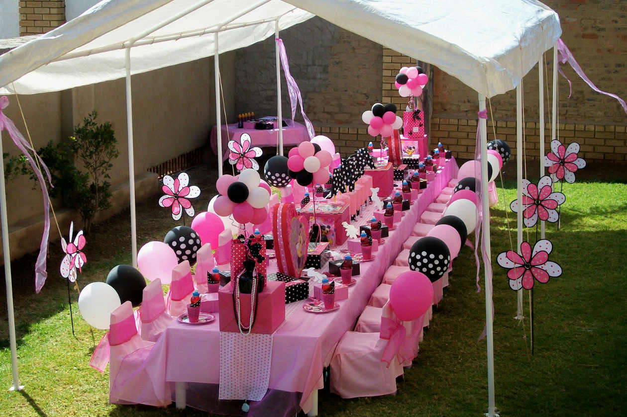 Minnie Mouse Baby Shower Centerpiece Ideas
