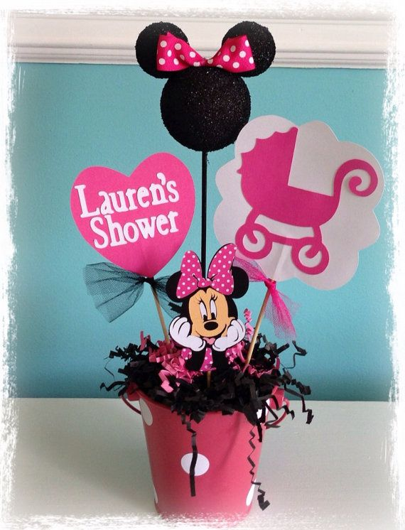 Minnie Mouse Baby Shower Ideas Pinterest