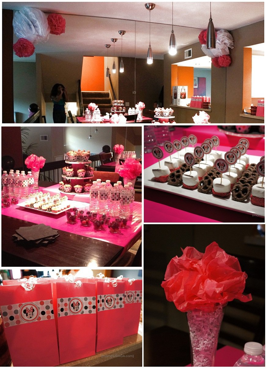 Minnie Mouse Birthday Party Decoration Ideas