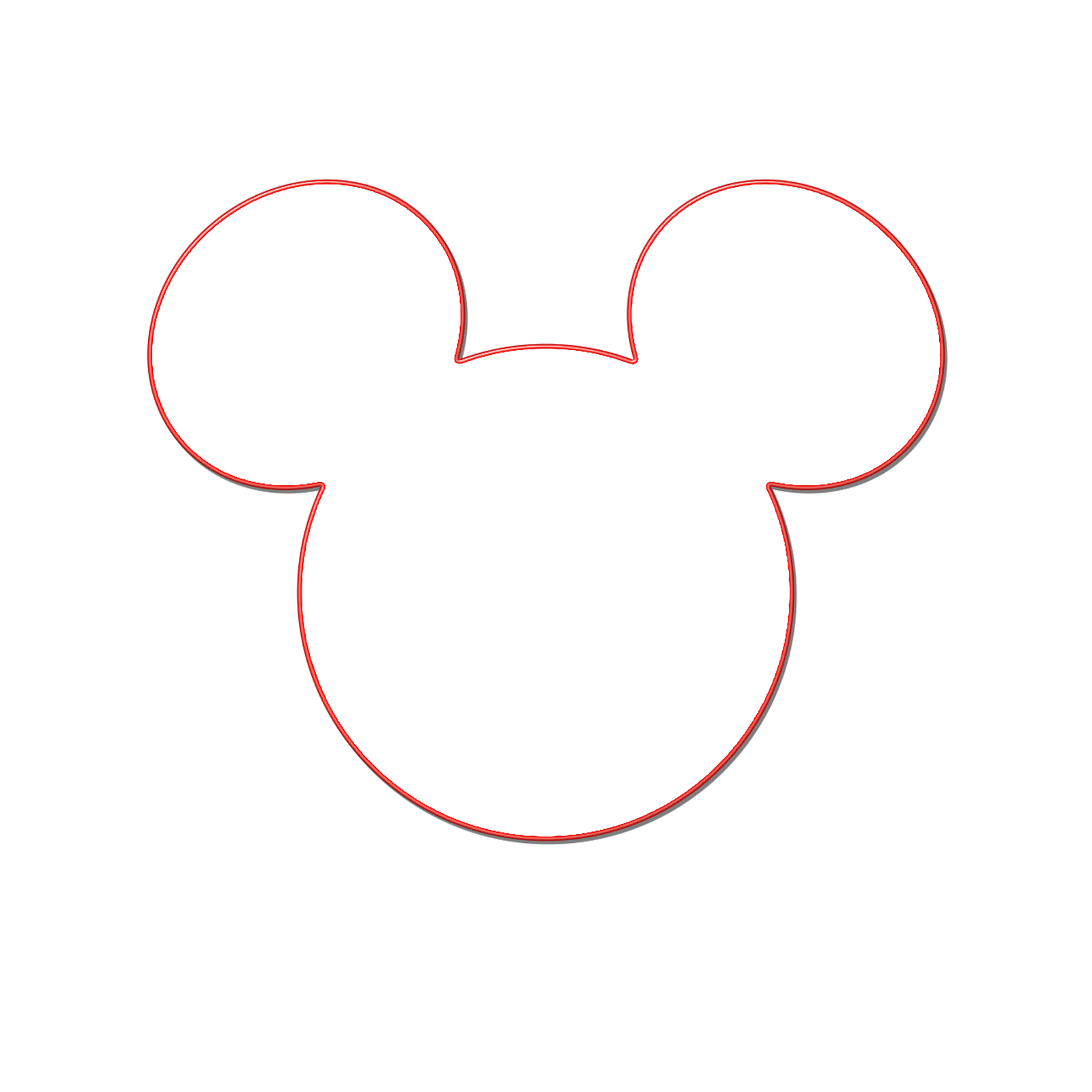 Minnie Mouse Body Template