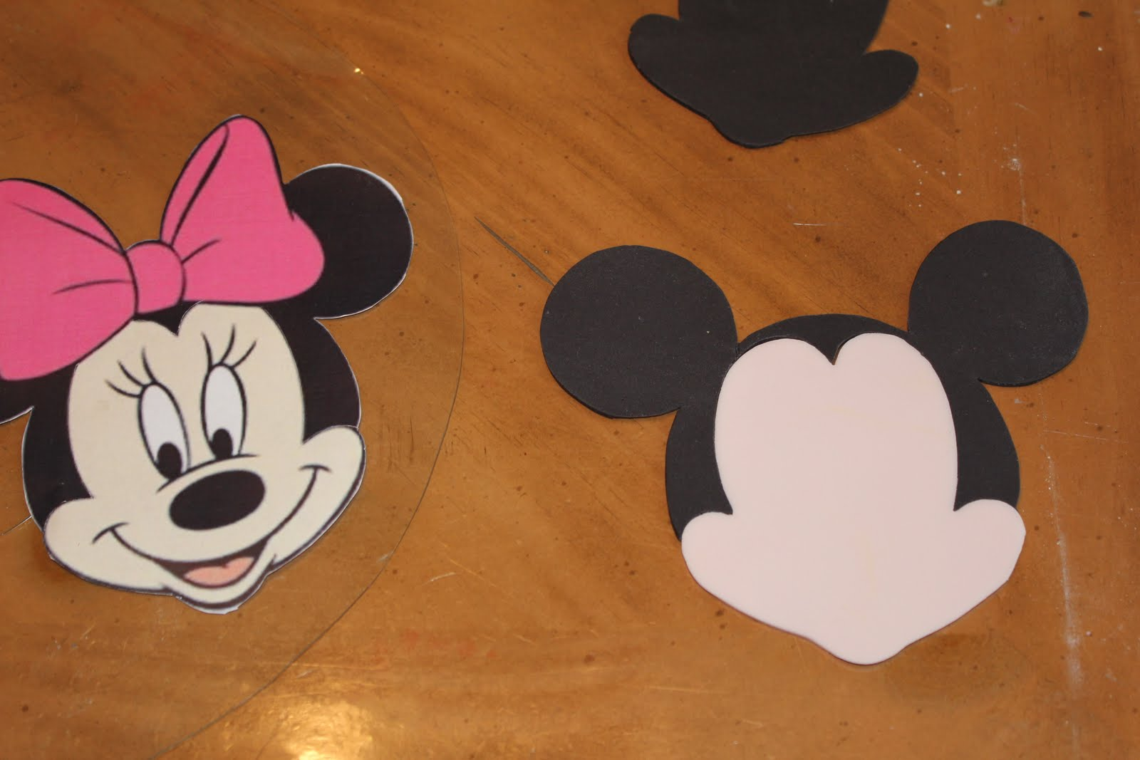 Minnie Mouse Face Template For Cake