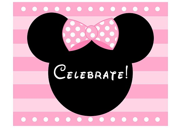 Minnie Mouse Free Printable Templates