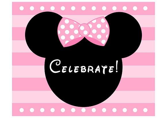 Minnie Mouse Free Printable Templates