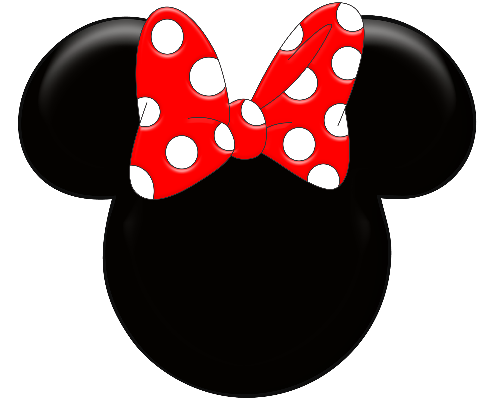 Minnie Mouse Letter Template