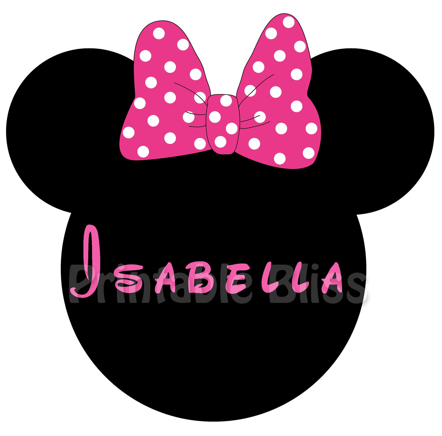 Minnie Mouse R Nbow Templates