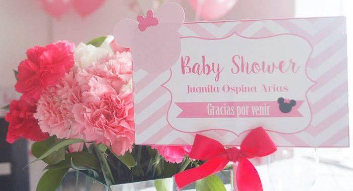 Minnie Mouse Themed Baby Shower Ideas