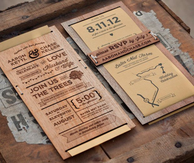 Most Interesting Wedding Invitations