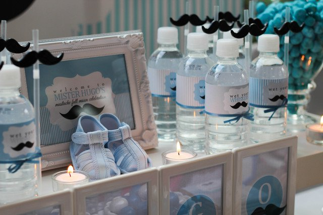 Mustache Party Ideas For Baby Shower