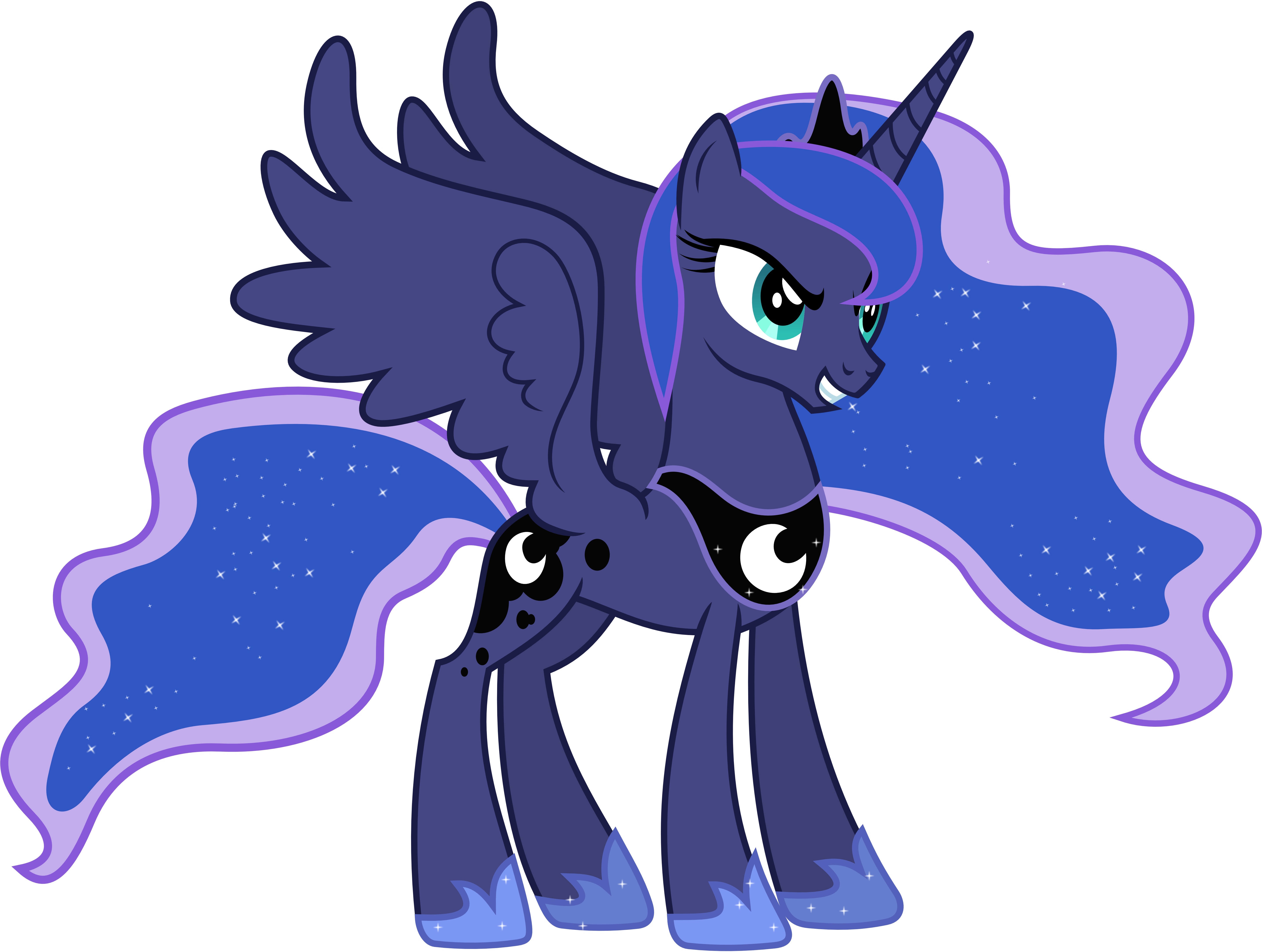 My little pony princess luna - Princesse poney ...