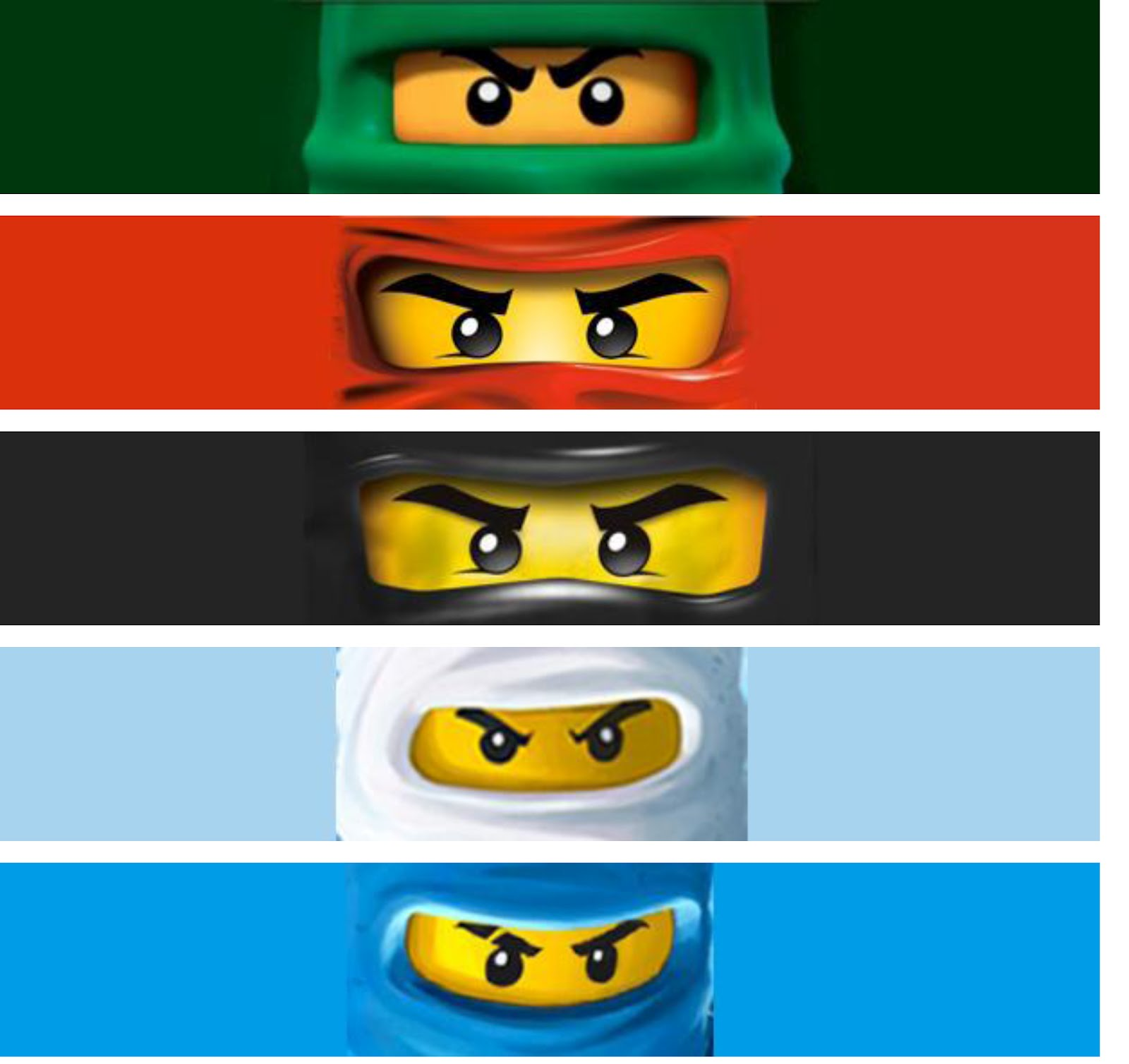 Ninjago Birthday Invitations Free Printable