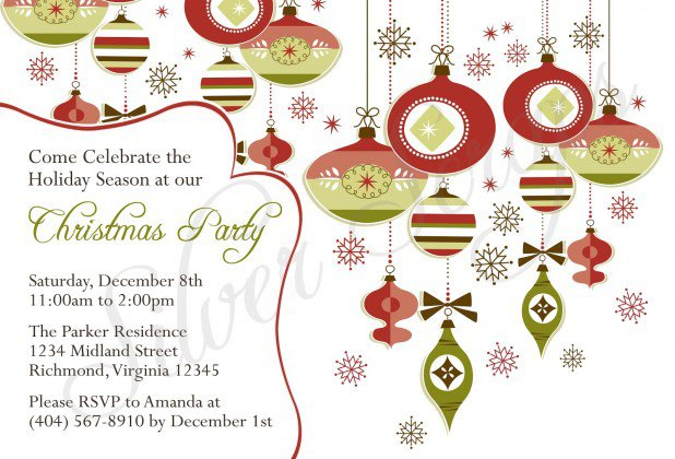 Office Christmas Party Templates