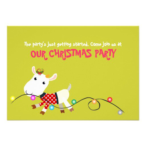 Office Party Invitation Wording – Funny Christmas Party Invitation Wording