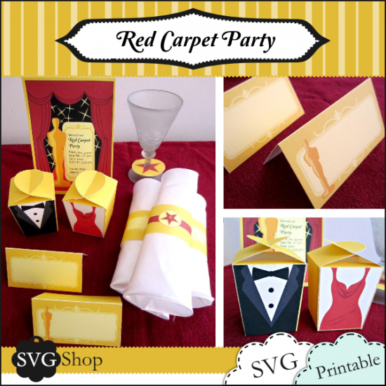 Oscar Party Invitations Templates