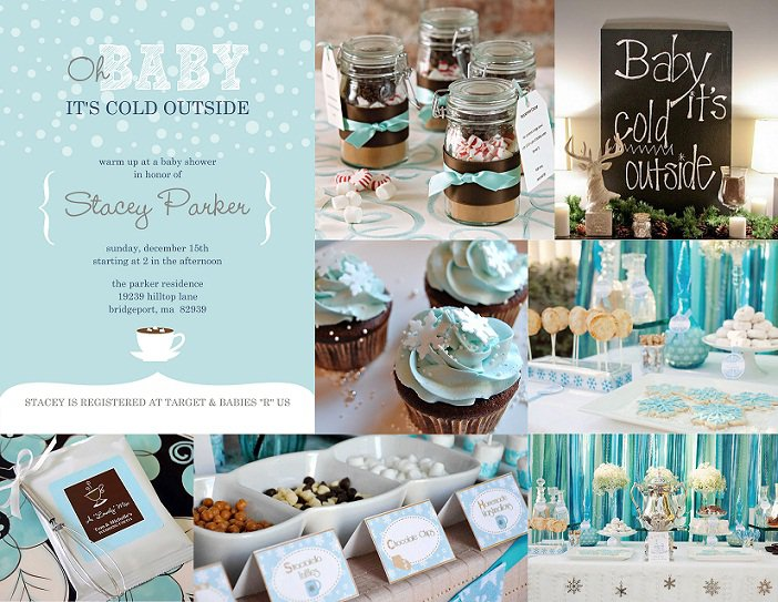 Outdoor Baby Shower Invitations