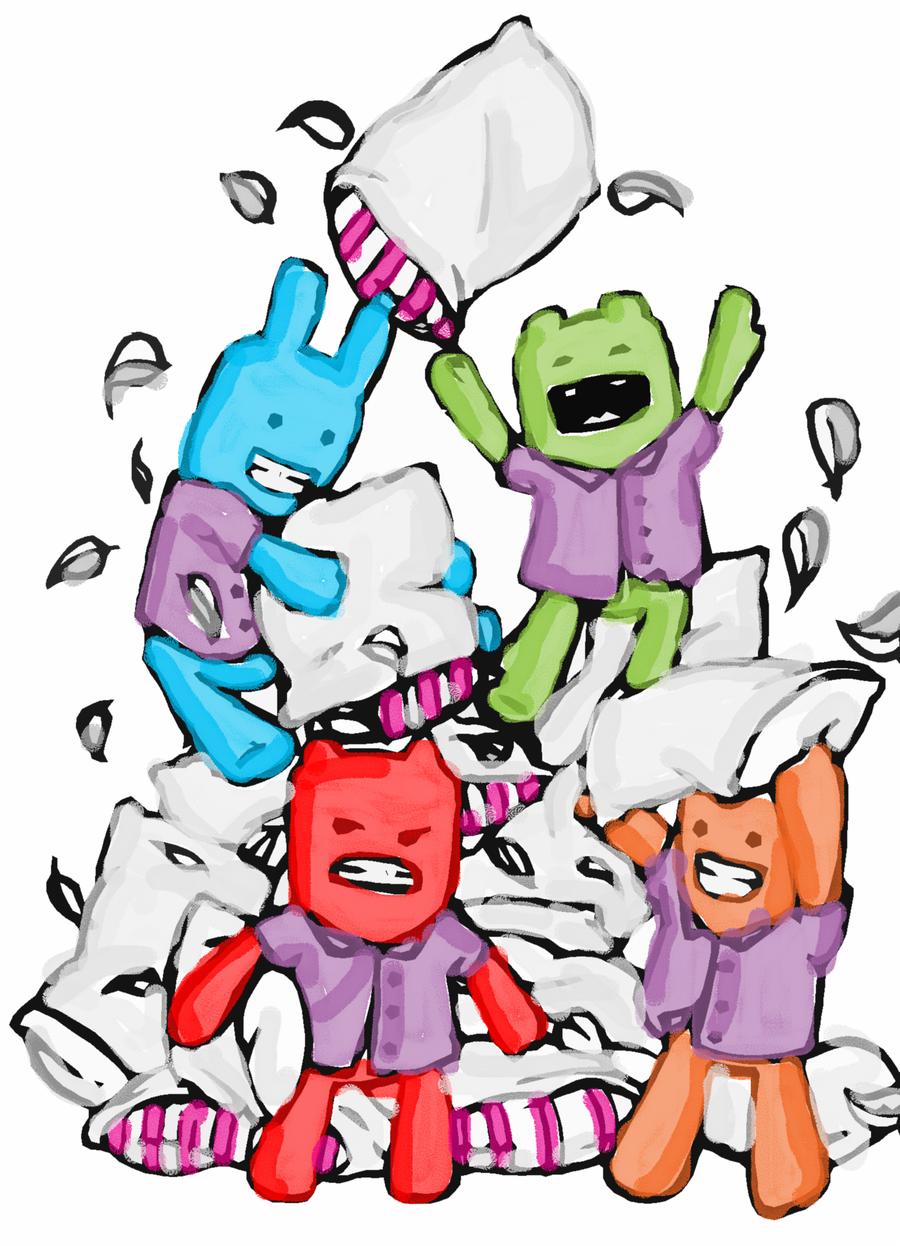 Pajama Party Clip Art