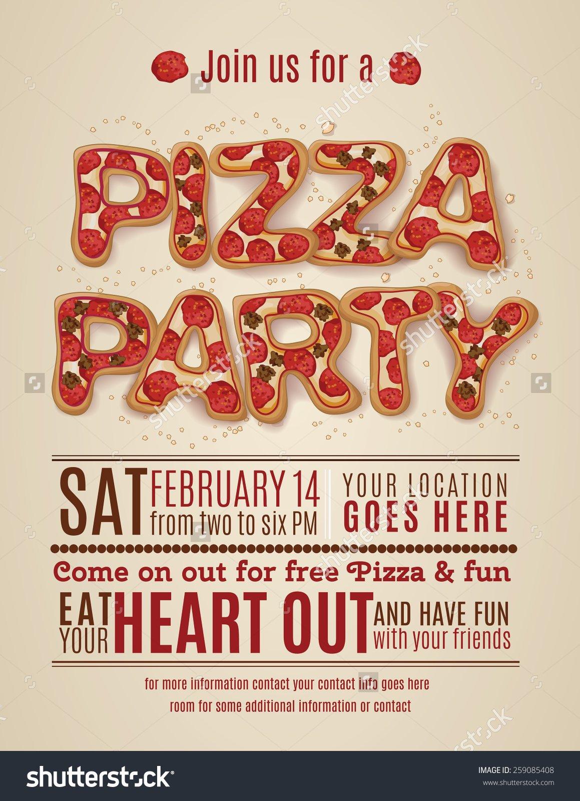 Party Invitation Flyer Design
