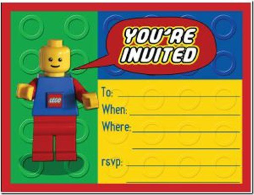 Party Invitations For Boys