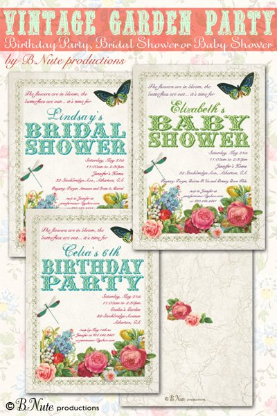 Party Productions Invitations