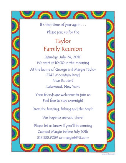 Picnic Party Invitations Wording