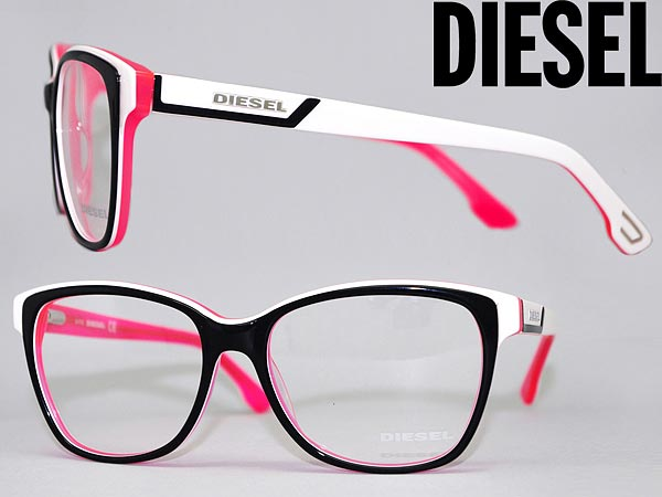 Pink And Black Eyeglass Frames