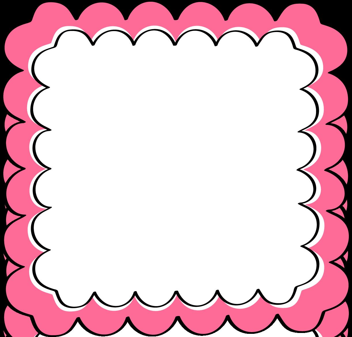 Pink And Black Frames