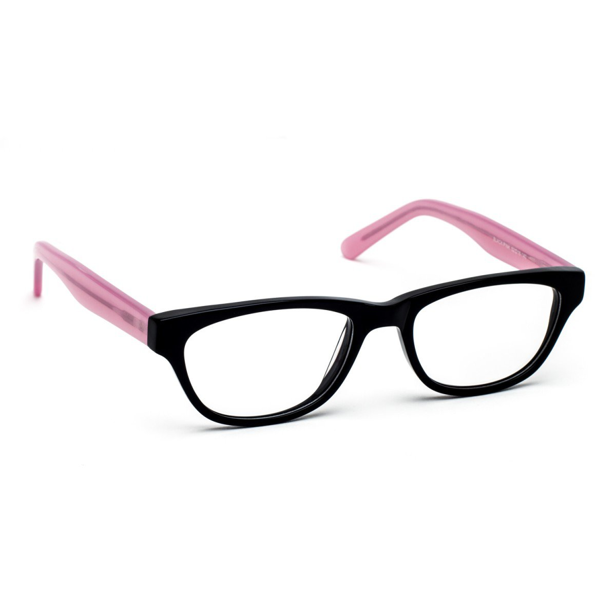 Pink And Black Glasses Frames