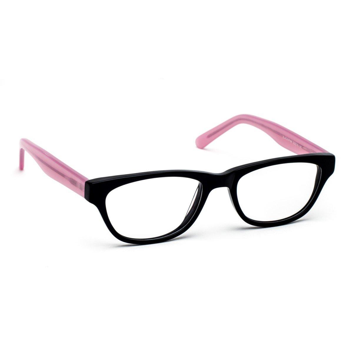 Pink And Black Glasses Frames