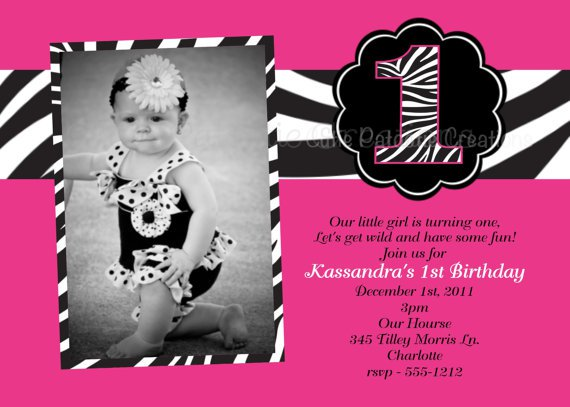 Pink And Zebra Invitations Printable