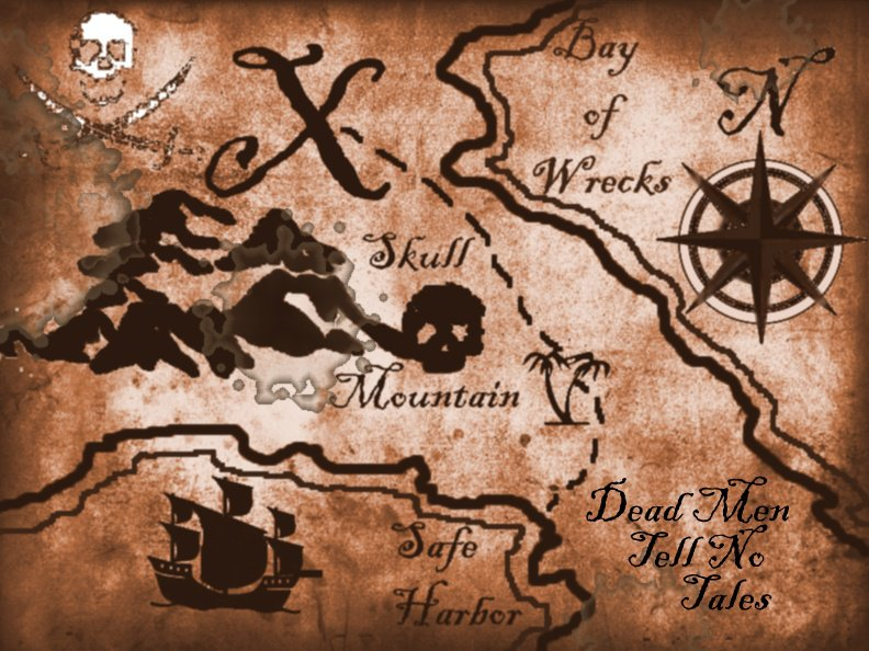 Pirate Treasure Map Templates - Invitation Design Blog