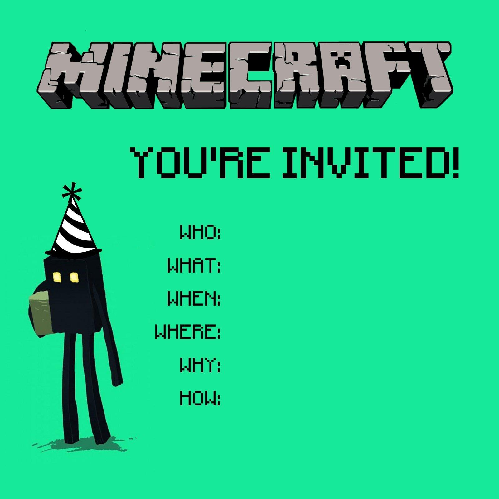 Print My Own Birthday Invitations Free