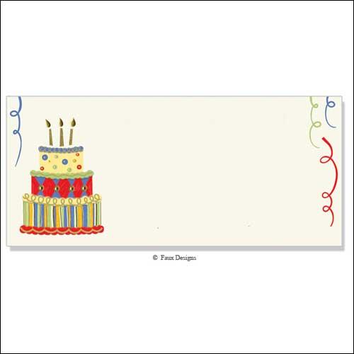 Printable Blank Birthday Invitation Cards