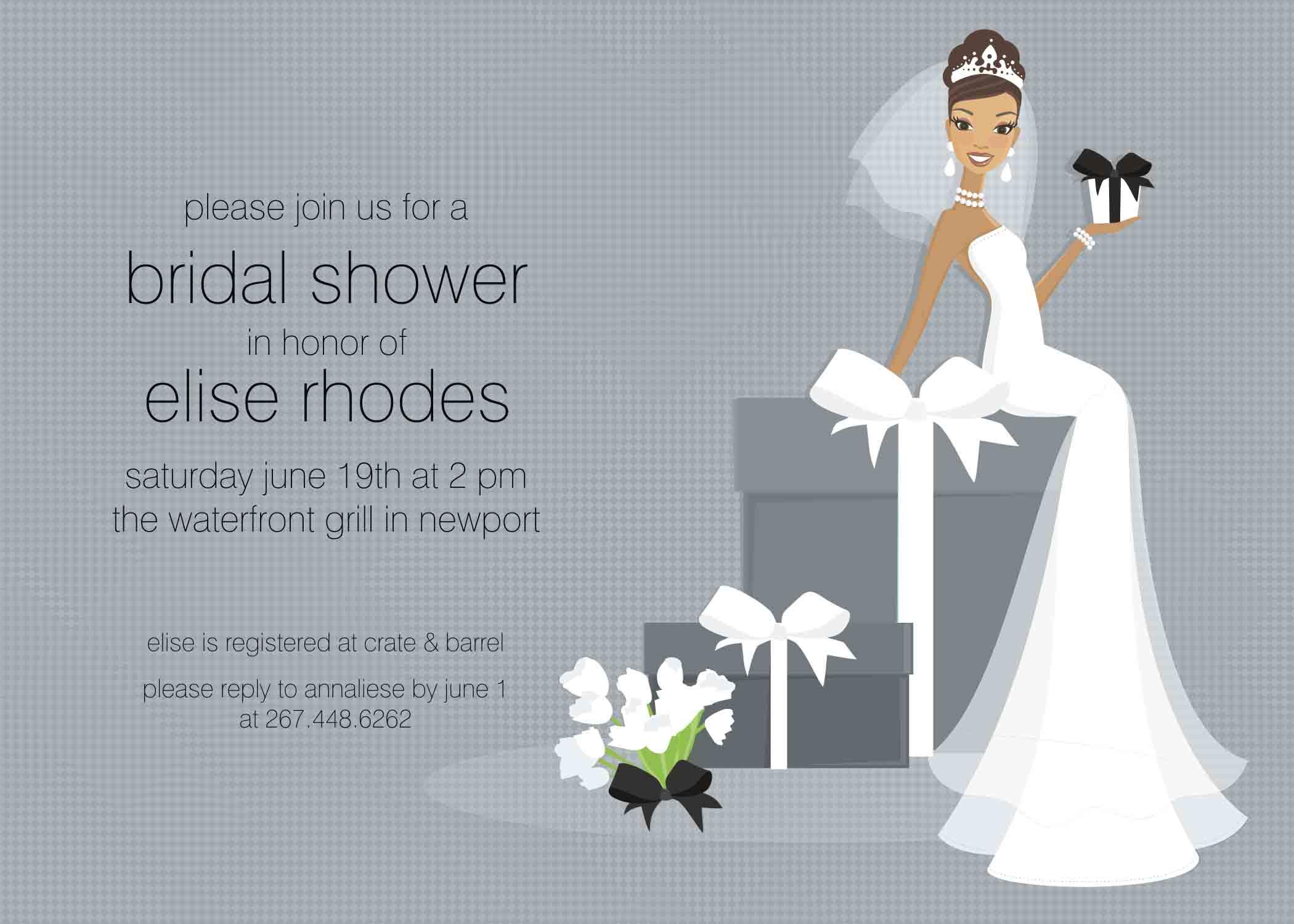 Printable Bridal Shower Invitations Templates