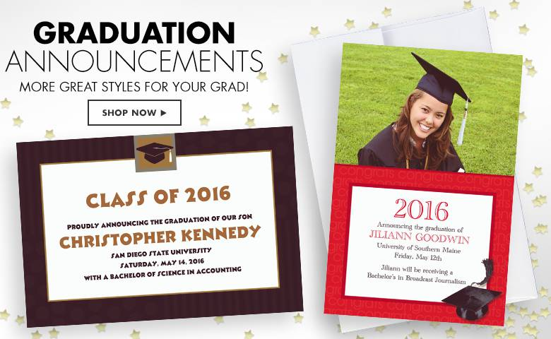 Printable Graduation Invitations Party City