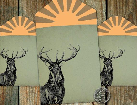 Printable Hunting Birthday Cards