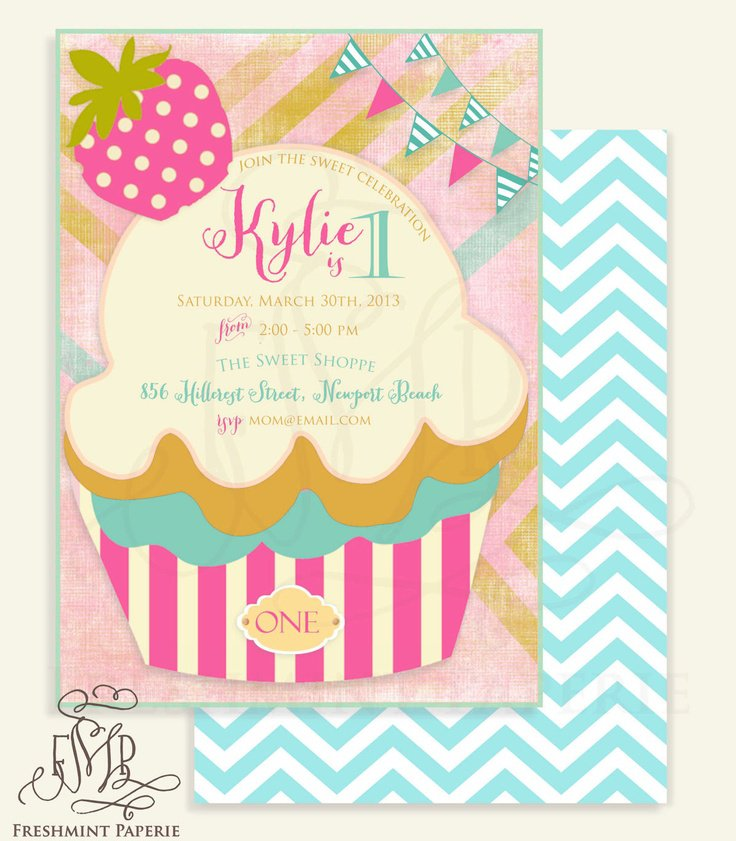 Printable Invitations Ice Cream