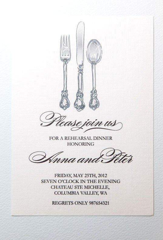 Printable Rehearsal Dinner Invitations Free